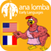 Ana Lomba's French for Kids: The Red Hen (Bilingual French-English Sto
