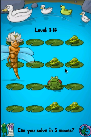 Screenshot Pond Hopper Lite